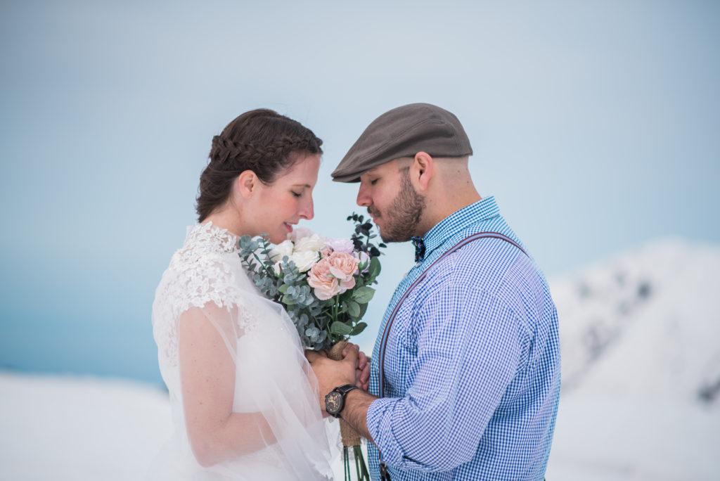 national park on bridal photo